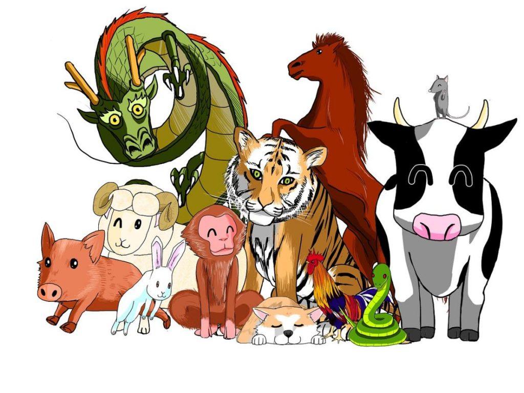 12 zwierząt. Chiński zodiak