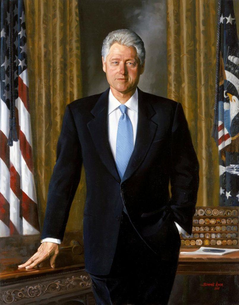 Bill Clinton ma dzień-mistrz Drzewo Yin. Bazi. Cztery filary przeznaczenia