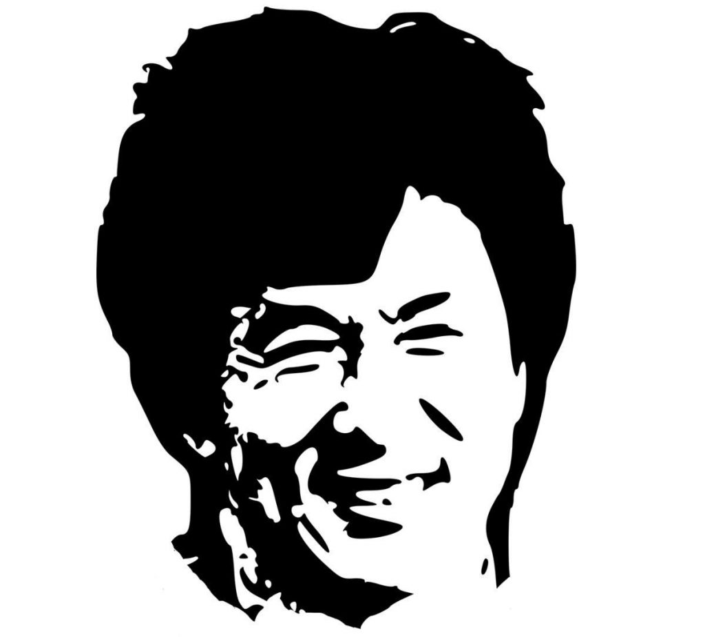 Jackie Chan. Woda Yin