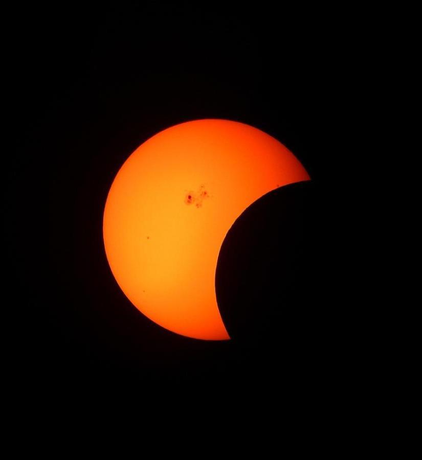 Mocne i silne strony Słońca. Zaćmienie